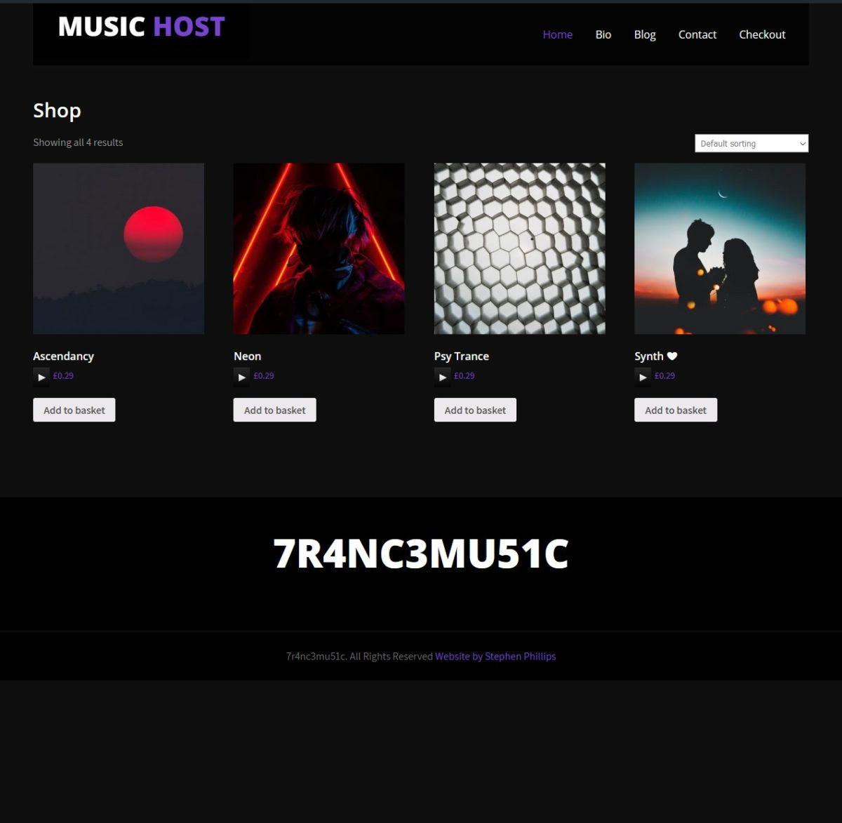 Music Host